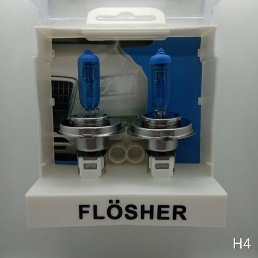 Flösher H4 Beyaz Işık Artırımlı Far Ampül, Flösher H4 Beyaz Işık, H4 Beyaz Işık, H4 Beyaz Işık Artırımlı Far Ampül, Artırımlı Far Ampül