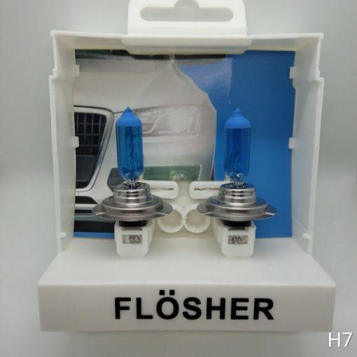 Flösher H7 Beyaz Işık Artırımlı Far Ampül, Flösher H7 Beyaz Işık, H7 Beyaz Işık, H7 Beyaz Işık Artırımlı Far Ampül, Artırımlı Far Ampül