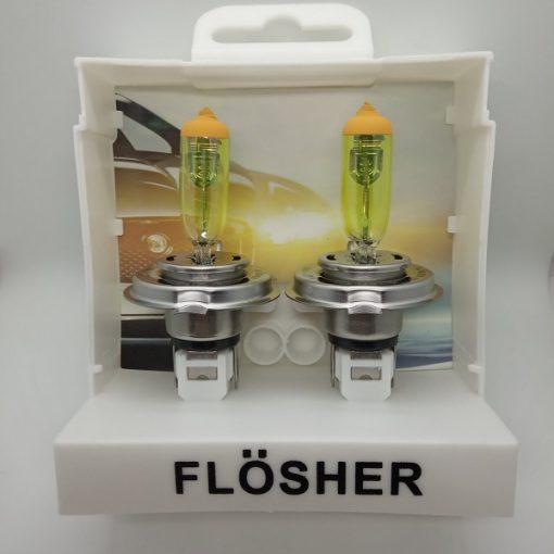 Flösher H4 Sarı Işık Artırımlı Far Ampül, Flösher H4 Sarı Işık, H4 Sarı Işık, H4 Sarı Işık Artırımlı Far Ampül, Artırımlı Far Ampül