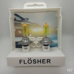 Flösher H7 Sarı, Far Ampül