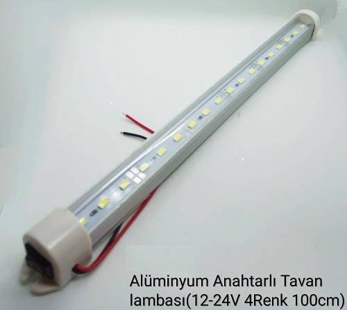 Alüminyum Araç Tavan Lamba 100 cm, Alüminyum Araç Tavan Lamba, Araç Tavan Lamba, Araç Tavan Lamba 100 cm