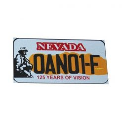 Nevada Yabancı Plaka, Nevada Yabancı, Yabancı Plaka