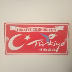 Türkiye Cumhuriyeti 1923 Plaka, Türkiye Cumhuriyeti , 1923 Plaka