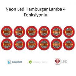 Neon Led Hamburger Lamba 4 Fonksiyonlu 12 Adet, Led Hamburger Lamba 4 Fonksiyonlu 12 Adet, Hamburger Lamba 4 Fonksiyonlui Neon Led Hamburger Lamba 12 Adet, Led Hamburger Lamba 12 Adet