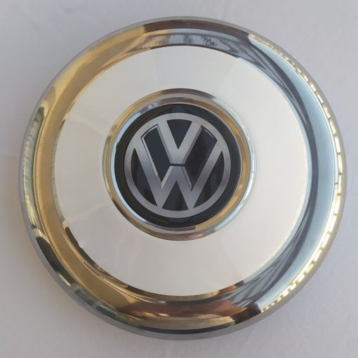 Jant Göbek Tas, Paslanmaz Jant Göbek Tas Volkswagen Tipi Siyah Beyaz, Göbek Tas